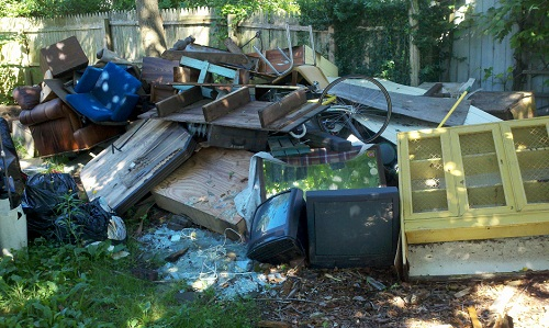 house flipping before and after photos - Backyard Before And After