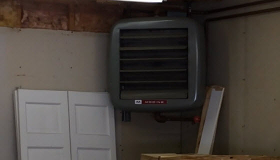 modine heater house flipping